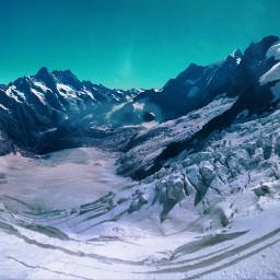 freetoedit pcsnowyslopes snowyslopes mountain