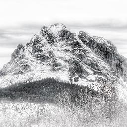 snow mountain nature winter pcsnowyslopes