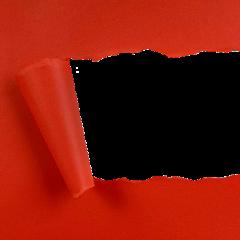 red paper tornpaper ftestickers freetoedit
