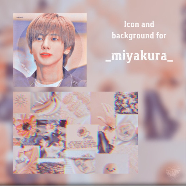 Icon and background requested by: -   @_miyakura_  Hope you like it! 💕   (The photo is in the comments) - T A G S - @picsart #txttaehyun #taehyun #txt #kpop #icon #pfp #pfpbackground  #freetoedit