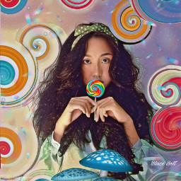 freetoedit madewithpicsart swirltool lollipop fantasy srcrainbowstroke rainbowstroke