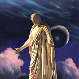 jesuschrist superstar pcstatue statue freetoedit