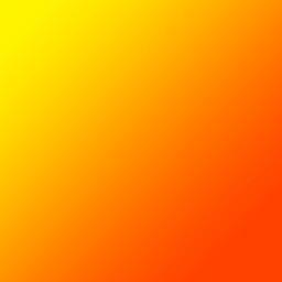 gradation orange yellow グラデーション オレンジ freetoedit