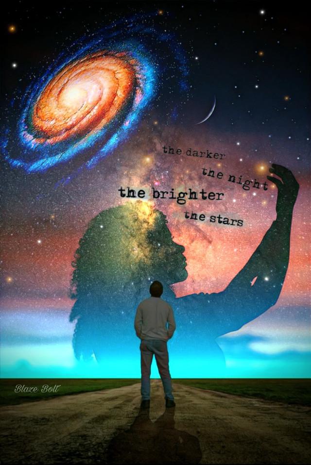 #freetoedit #quotes #stars #night #galaxy #starbrush #adjusttool #floramagiceffect