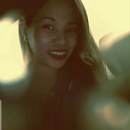 vintageeffect blur selfie smile