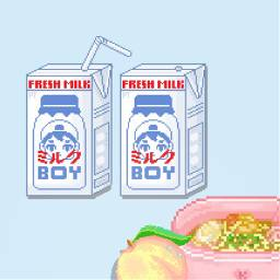 wallpaper edit milk noodles peach freetoedit