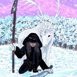 picsartchallenge picsart winterwonderland art artist dcwinterwonderland