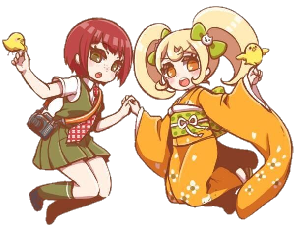 got bored and made my own pngs of some cute danganronpa ships #danganronpa #superdanganronpa #hiyokosaionji #hiyoko #mahirukoizumi #mahiru #mahiyoko #freetoedit