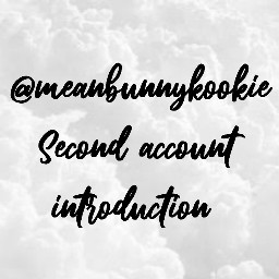 account secondaccount newaccount newacc introduction