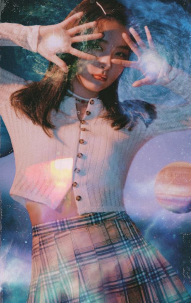 space girl seulgi 🌘🛸   #seulgi #redvelvet #kpop #kangseulgi #space #astronomy #galaxy