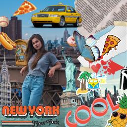 freetoedit girl newyork pinneapple piña srcmyny myny