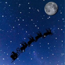 christmas merrychristmas holidays santa freetoedit
