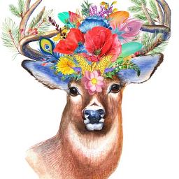 deer deerremix deerling deerhead geyik freetoedit