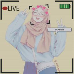 freetoedit animeedite muslimgirl