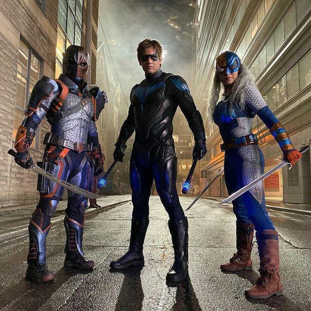 #freetoedit #NightWing #Deathstroke #Ravager #Dick #Slade #Rose #Robin Deathstroke Vs Nightwing & Ravager #Titans #2019