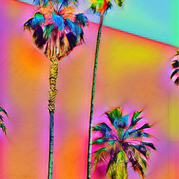 freetoedit palmtrees pastel