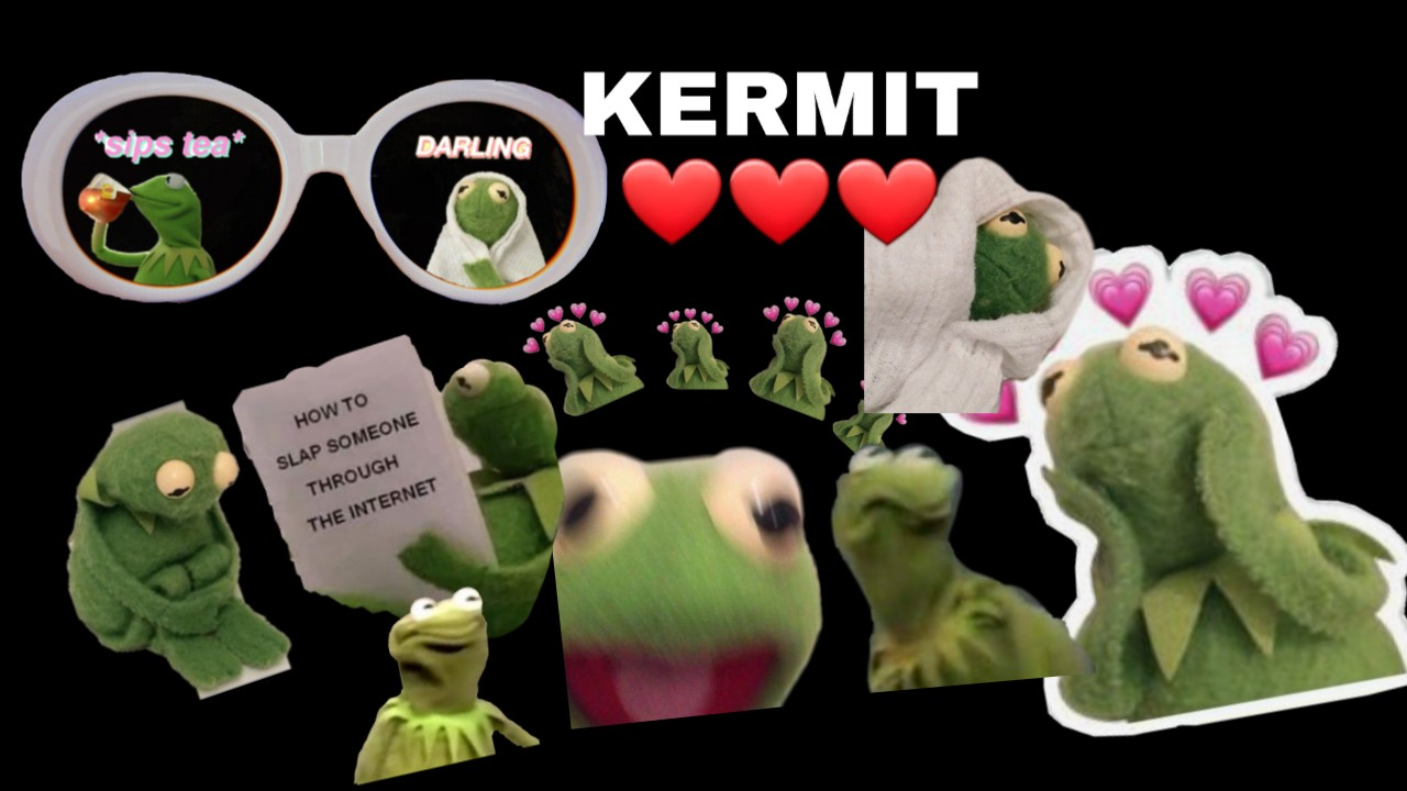 Kermit Cute Image By This Is Gacha Yay Buzz and woody (toy story) meme meme generator. picsart