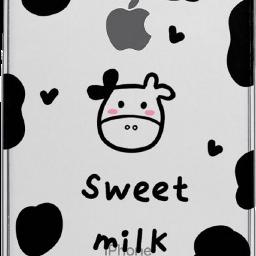 手机壳 苹果手机 苹果手机壳 苹果x 奶牛
