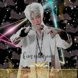 bts kimnamjoon rm_bts kpoplove kpop freetoedit
