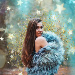 nye sparkles glitter bokestars freetoedit