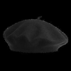 black png beret hat pngs freetoedit