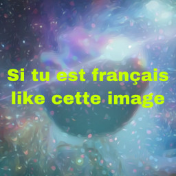 like français french multicolore freetoedit