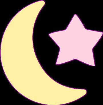 #月亮和星星