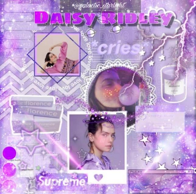 #freetoedit #daisyridley #daisyridleyiseverything #rey #purple #purpleaesthetic