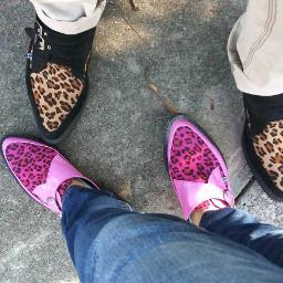 pink leapord creepers t.u.k wendyneptune freetoedit