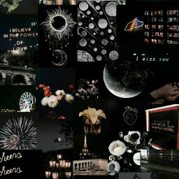 freetoedit aesthetic challenge blackandwhite collage ccnewyearsresolution newyearsresolution #moodboard