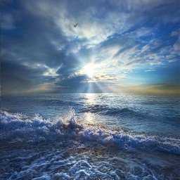 sun sea infinity beauty glamor freetoedit