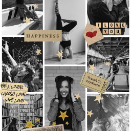 freetoedit desafio desafiopicsart collague blackandwhite #moodboard ccnewyearsresolution
