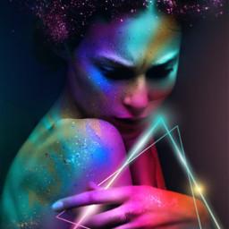 freetoedit artisticportrait fantasy surreal colorful