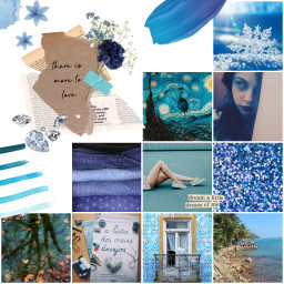 freetoedit blueaesthetic flower blue tropic ccblueaesthetic