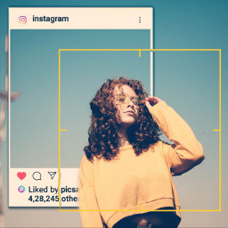 camerafocus profile trendy freetoedit