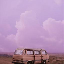 freetoedit pink pinkaesthetic purple sky