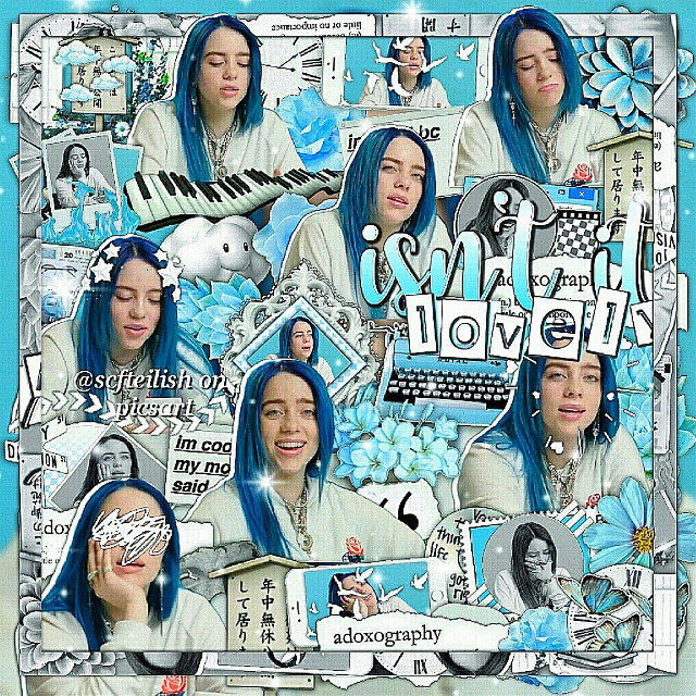 ~°•[ isn't it lovely ]•°~  [info] 💫↣edit type | complex ❄↣ celeb | billie eilish ✨↣ time taken | 2 days 💌↣ follower count | 7,110 🐚↣ contests | @casual_sabotage (#casualsabotagecontest), @billsbibbles 's contest, @-billiemybaby- (#billiemybabycontest1), @tearsave (#hqneysam900), @awhkylie (#kyliesbdayedits), @iisadxvibesii (#sadvibescontest), @blushyboca (#blushycontest) 💒↣ credits | credits to whoever made the overlays i used for the background 🍭↣ fonts | buttercup and earwig factory  ---------♡---------  [extra] 🌹↣ random shoutout | @roqueporto  📍↣ notes | hi this is my first edit of this decade. go follow @roqueporto because theyre amazing and they deserve more followers. just go do it you won't regret it. anyway im still trying to figure out which editing style i like the most and i really like this one so i might stick with it for a while. also that's a lot of contests lmao. and yes new caption ok.  ---------♡---------  [fan accounts] 🌷↣ ilyasm | @scfteilishfan @_billieslostavofan_ @_browslostavocado_ @_browsavocado_ @browslostavocado @browskermit  ---------♡---------  [other accounts] ☁↣ aesthetic | @turnoffthelights_ 🌸↣ backup | @scfteilish_backup 💎↣ memes ig | @monkeybrow  🎀↣ manipulation | @-myluciferislonely 🍁↣ pinterest | @scfteilish 🍒↣ discord | browjoe# 5627  ---------♡---------  [tags] 💘↣ comment '🎁' to be added | @clusterrhug @casual_sabotage @awhashley @bocafrappe @smol_argent @bocabear @bvrdvrlne @billiesavocadoishere @girlsguide @awhkylie @iisadxvibesii @cloudycottril @-billiemybaby- @tearsave @sxft- @grandesmoonlight- @milliexsadie @butterflyswift @fancybutera @blvsheditss @awhmulti @bby-grande @lomlcottril  ---------♡---------  [hashtags] 🌻↣ #complexedit #billieeilish #edit