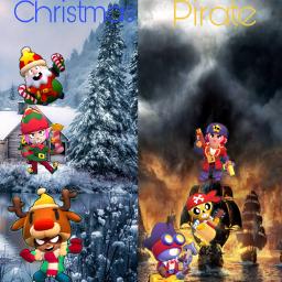 freetoedit brawlstars newskins christmas