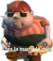#eres la mamada