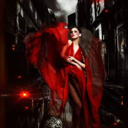 freetoedit city alley darkaesthetic redaesthetic