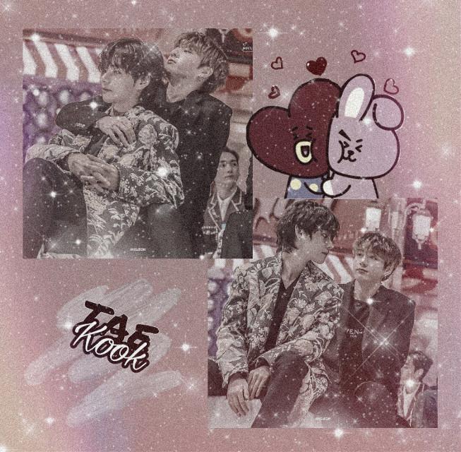 i luv u #bts #taehyung #jungkook #vkook #taekook
