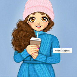 freetoedit cute coldday winter girly