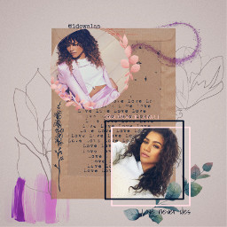 zendaya myedit mj marvel purple freetoedit