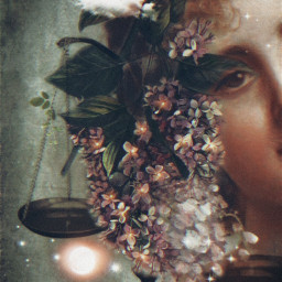art flowery moon phases libra october myzodiac signs mymoon beauty magical dreamy stestyle ste2020 madewithpicsart