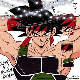 anime bardock dragonball
