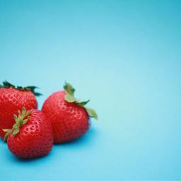 strawberry food yummy freetoedit