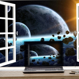 freetoedit space wall desk love