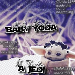 babyyoda yoda jedi starwars themandalorian