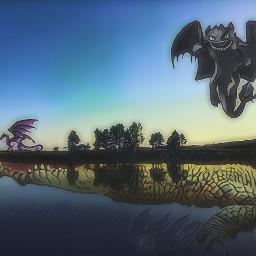 freetoedit fantasy dragon dream mitologia
