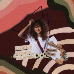zendaya vintage aesthetic dreams red